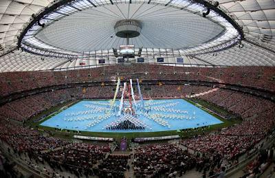 Foto Pembukaan Euro 2012 | Piala Eropa 2012