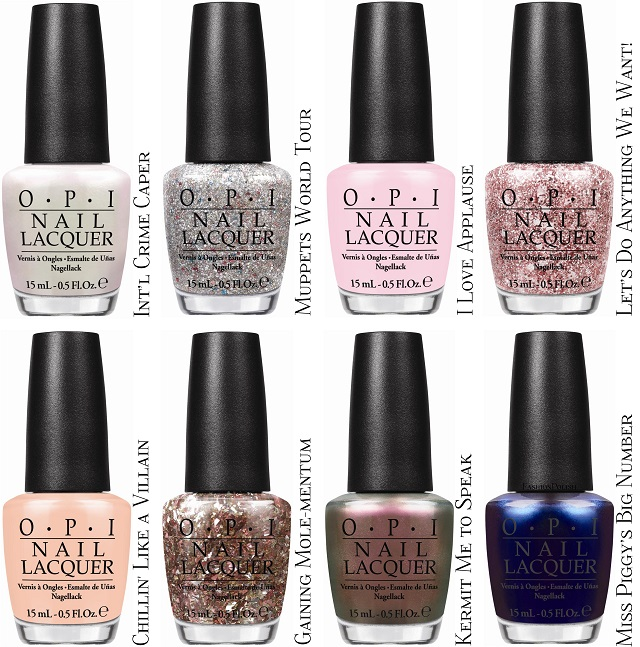 Fashion Polish: OPI Muppets Collection Disney\'s New Film Muppets ...