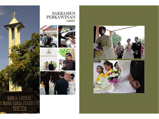 wedding book Sakramen Perkawinan Lucia+Felix