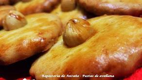 VICTORIAS (Pastas de avellana y cacao)