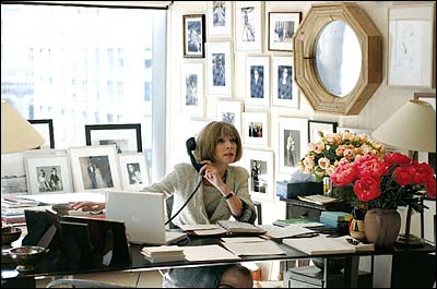 Exceptionnel And Anna Wintour And Her Famous White Office.