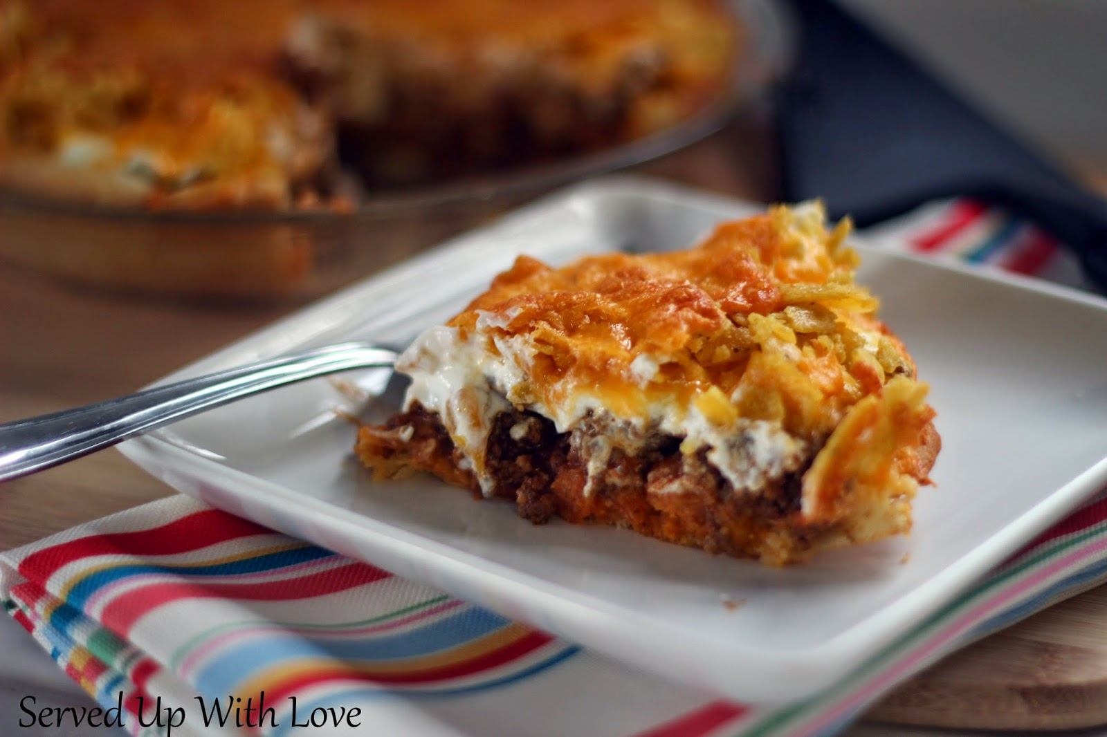 Served Up With Love: Taco Pie
