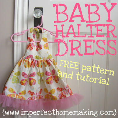 Baby Halter dress pattern