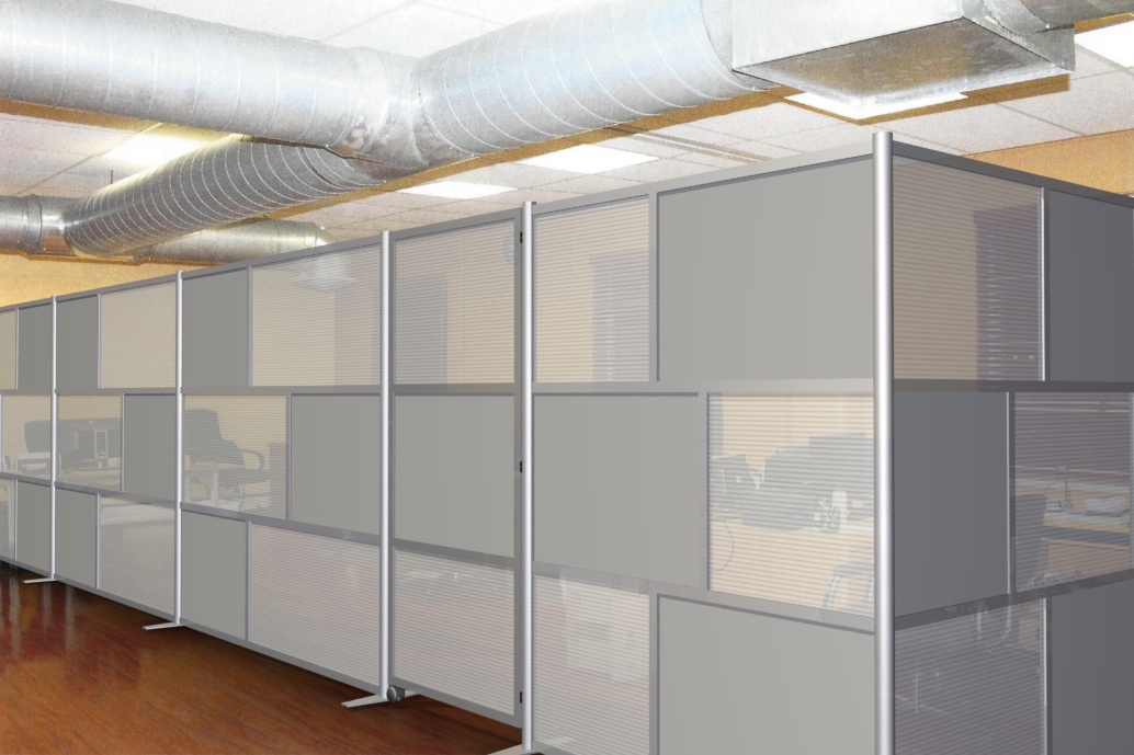 divider walls idivide modern room partitions at ticketech office