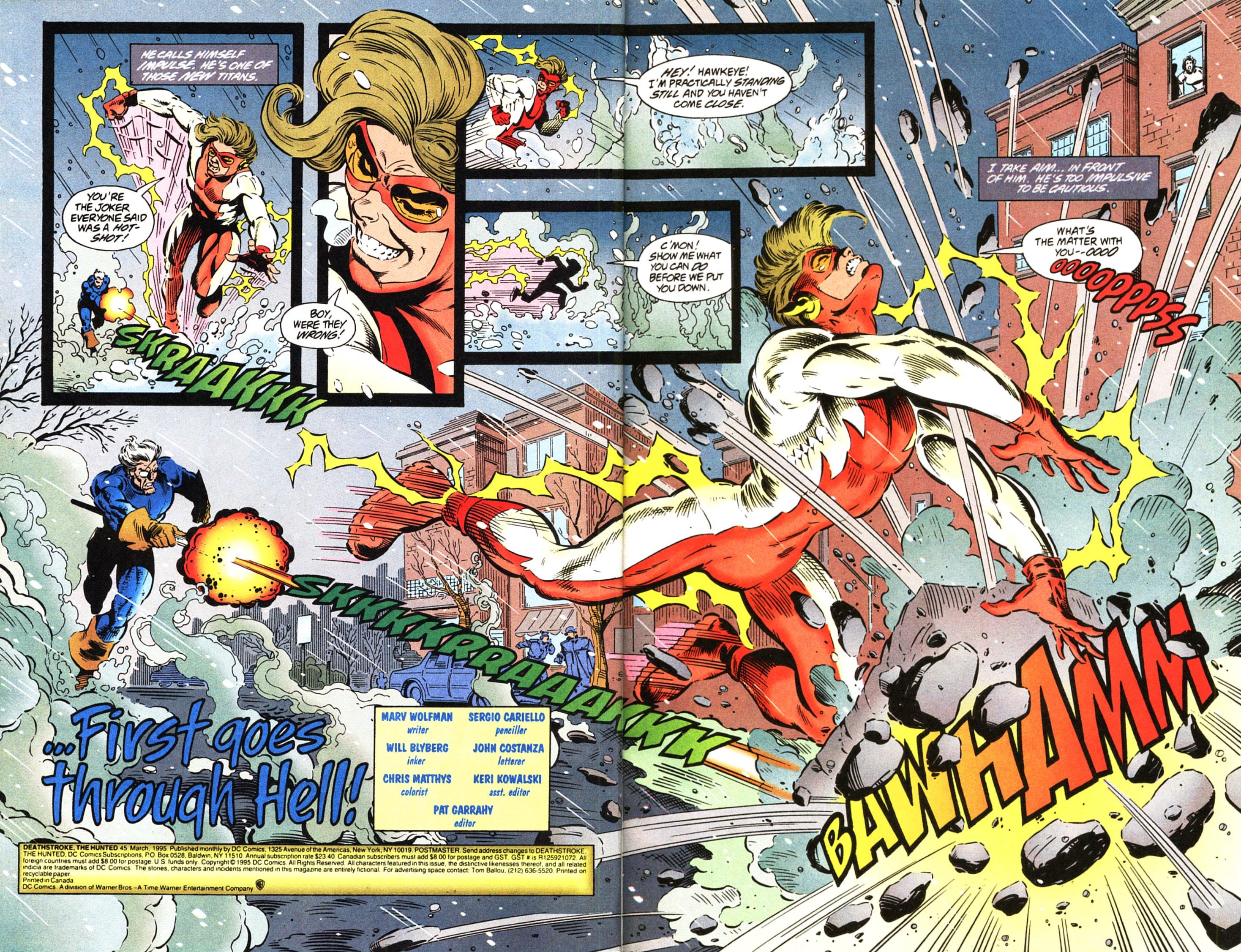 Deathstroke (1991) Issue #45 #50 - English 3