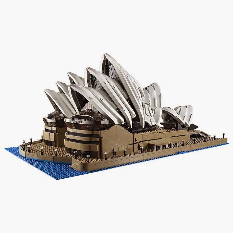 Set Lego Opera de Sidney