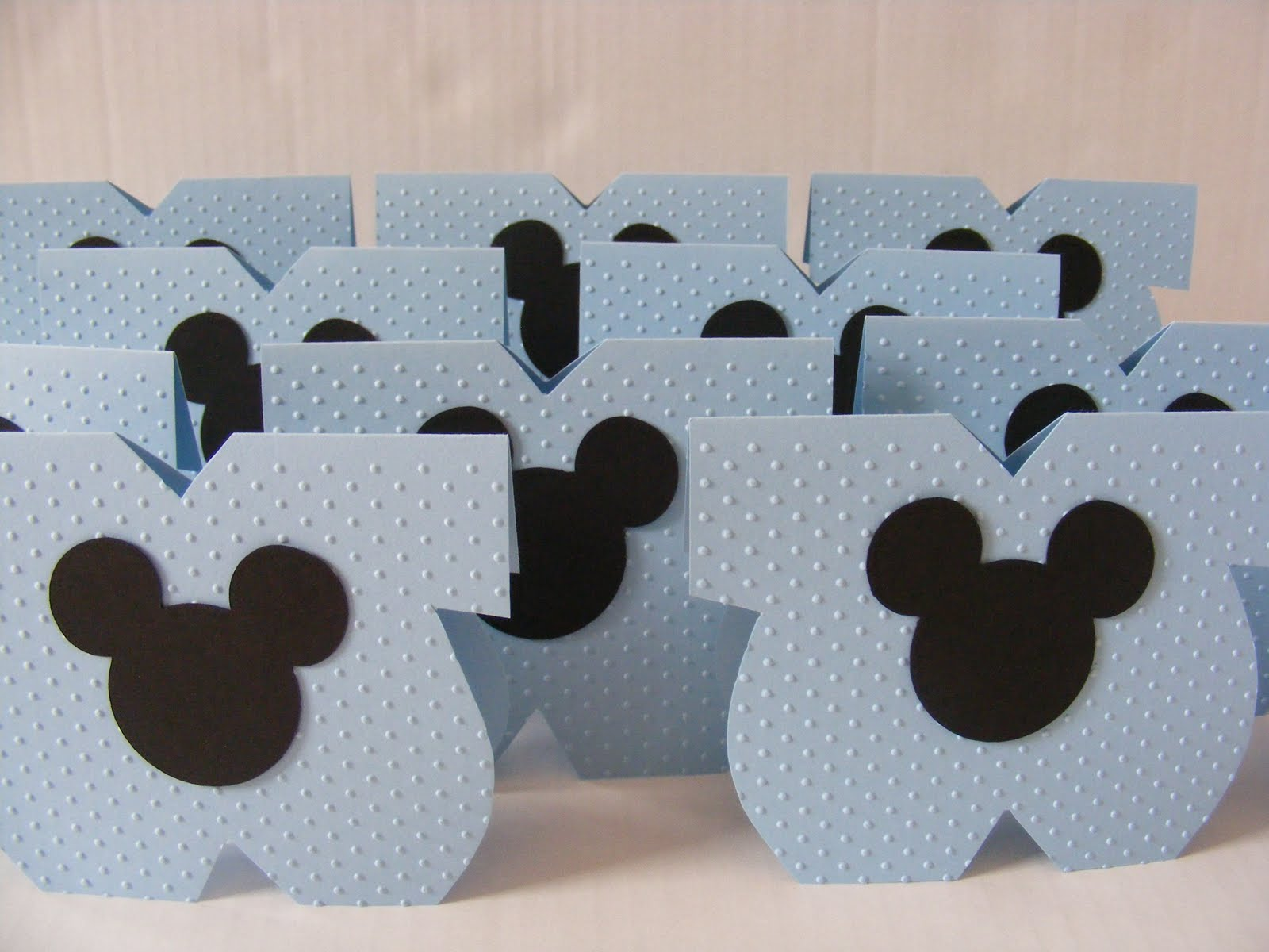 Mickey Mouse Baby Shower Party Favors