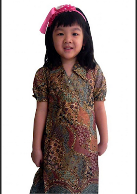 modifikasi model baju batik modern