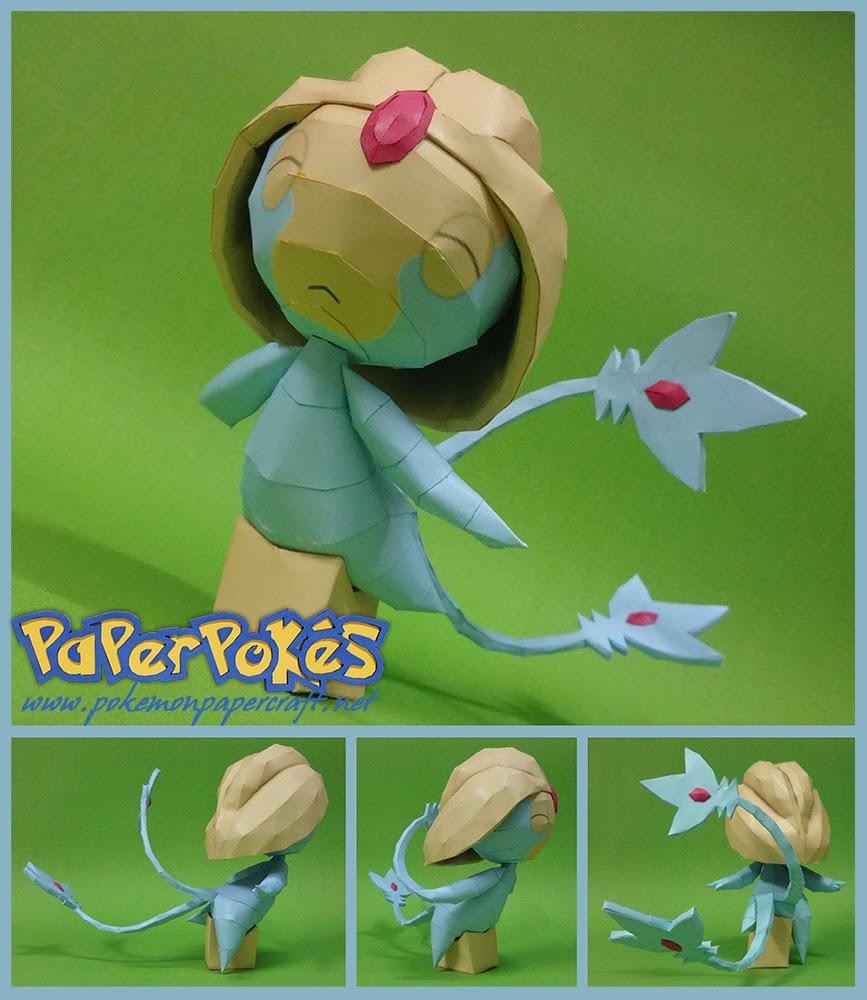 Pokemon Uxie Papercraft