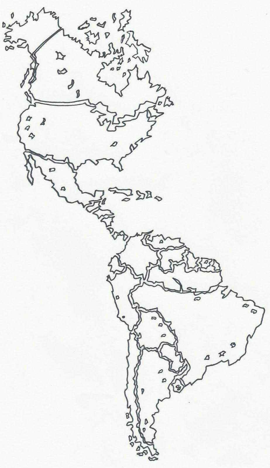 GEOGRAFIA DEL PERU Y DEL MUNDO-DIBUJOS-IMAGENES: DIBUJO-MAPA DEL ...
