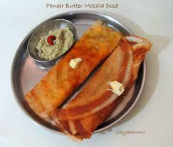 Vegetable paneer dosa