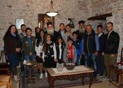 Νέοι των Κατηχητικών μας Ομάδων στην Ιερά Μονή Ομπλού