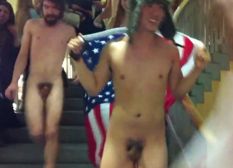 Naked College Guys Hazing