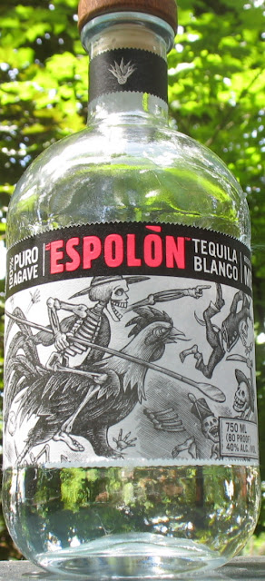 Bottle of Espolon Tequila