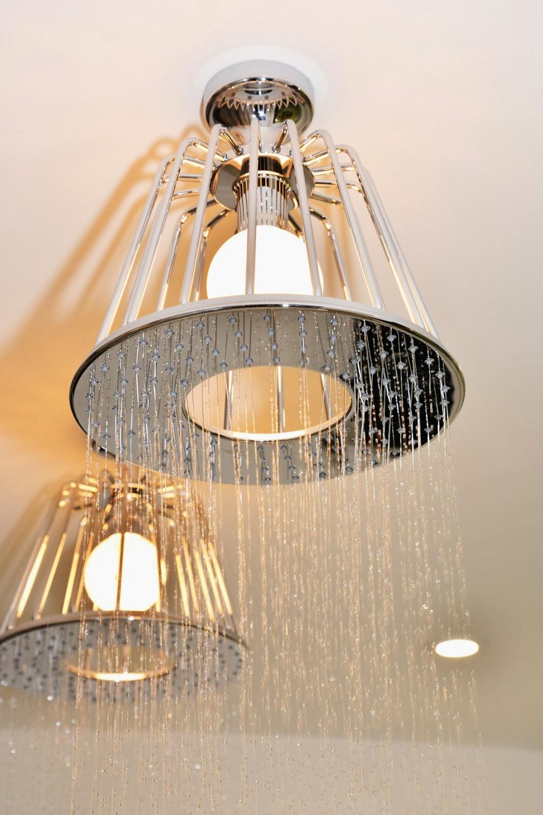Rolls Royce of showers Axor Nendo Shower Lamp, Lisa Melvin Design
