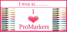 I love promarkers winner