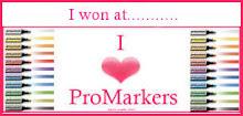 I love promarkers winner