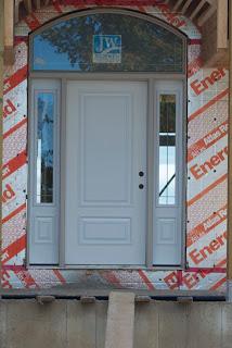 Home Construction Front Door