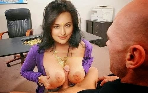 Sonakshi Sinha Showing Her Boobs Pussy and Fucked Bollywood Exposing Actress