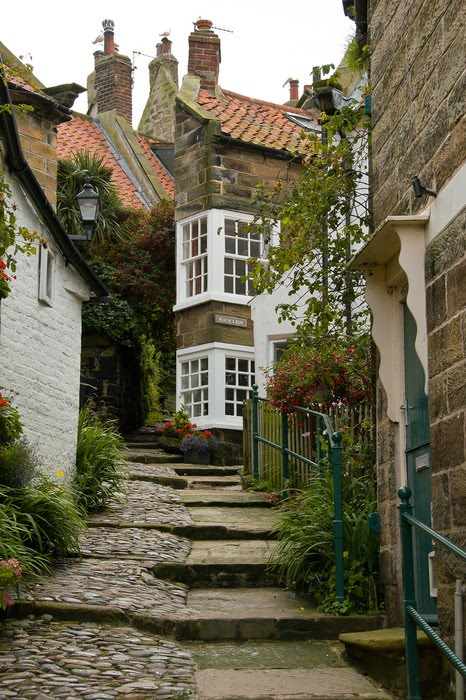 Robin Hood S Bay England Content In A Cottage