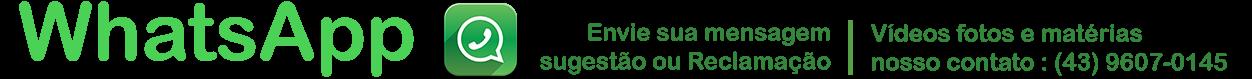 whatsApp do canal 500 notícias
