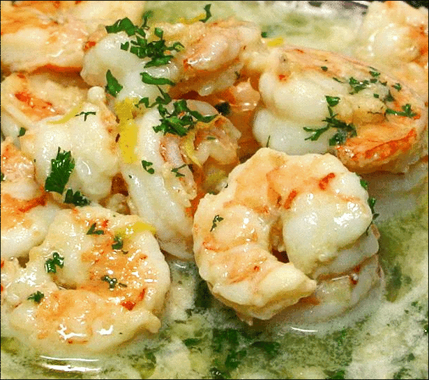 Counting Up with P10!: Shrimp Scampi