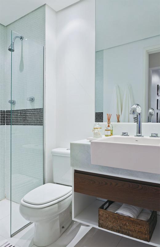 Bowo Decoracao de Sala Dicas para Decorar Banheiros Pequenos -> Tapete Banheiro Pequeno