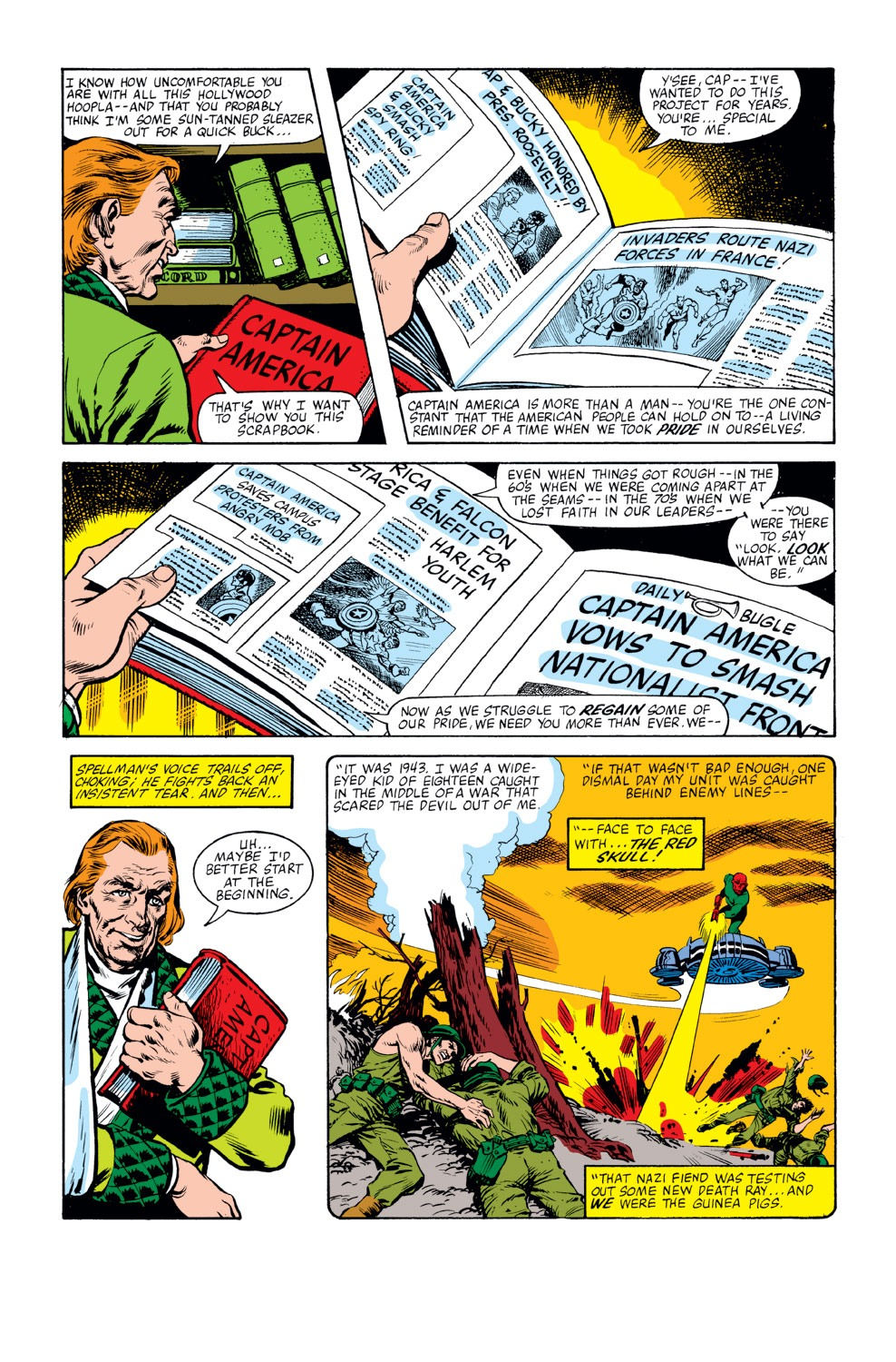 Captain America (1968) Issue #262 #177 - English 5
