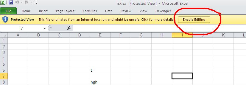 How To Protect Excel Sheet For Editing