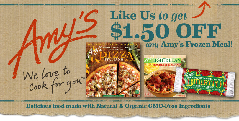 Jinxy Knows Best: Amy\'s Kitchen Organic Entrees - $1.50 Printable ...
