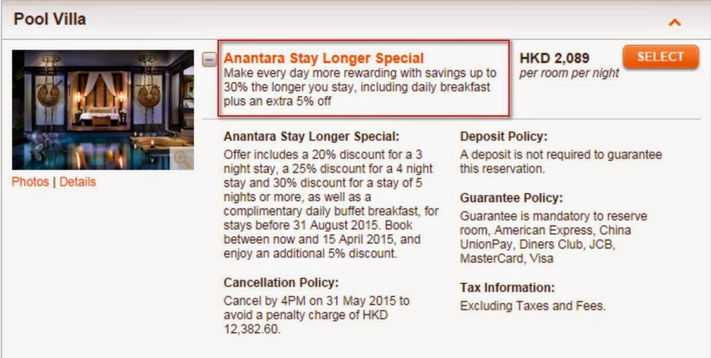 Anantara Stay Longer Special