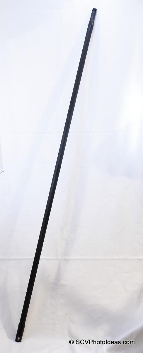 Backdrop hanging tube