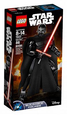 TOYS : JUGUETES - LEGO Star Wars VII 75117 Kylo Ren : Figura | Buildable Figures El Despertar de la Fuerza | The Force Awakens  Producto Oficial 2016 | Disney | Nueva Película Piezas: 86 | Edad: 8-14 años Comprar en Amazon España & buy Amazon USA