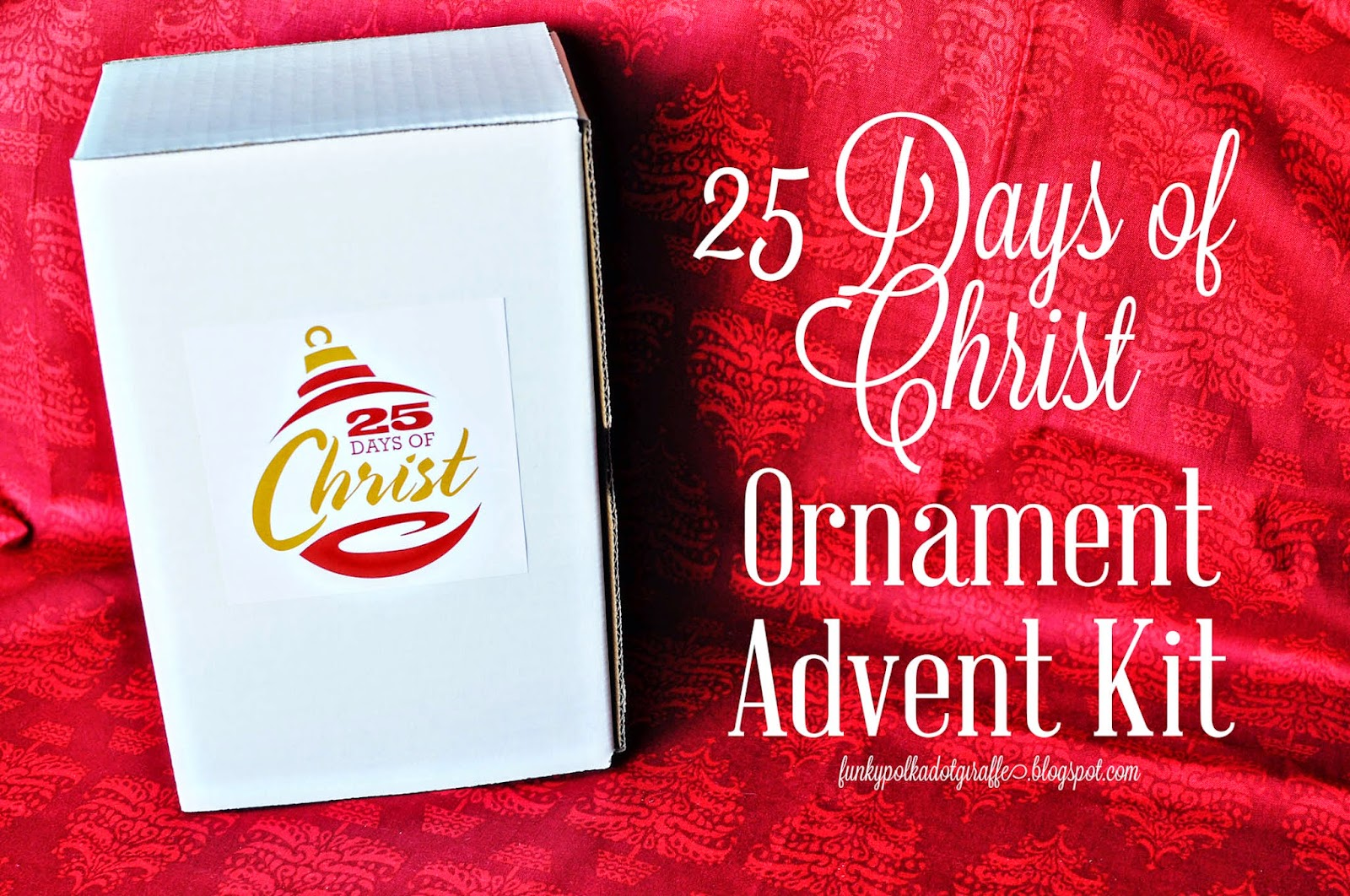 25 days of christ giveaway