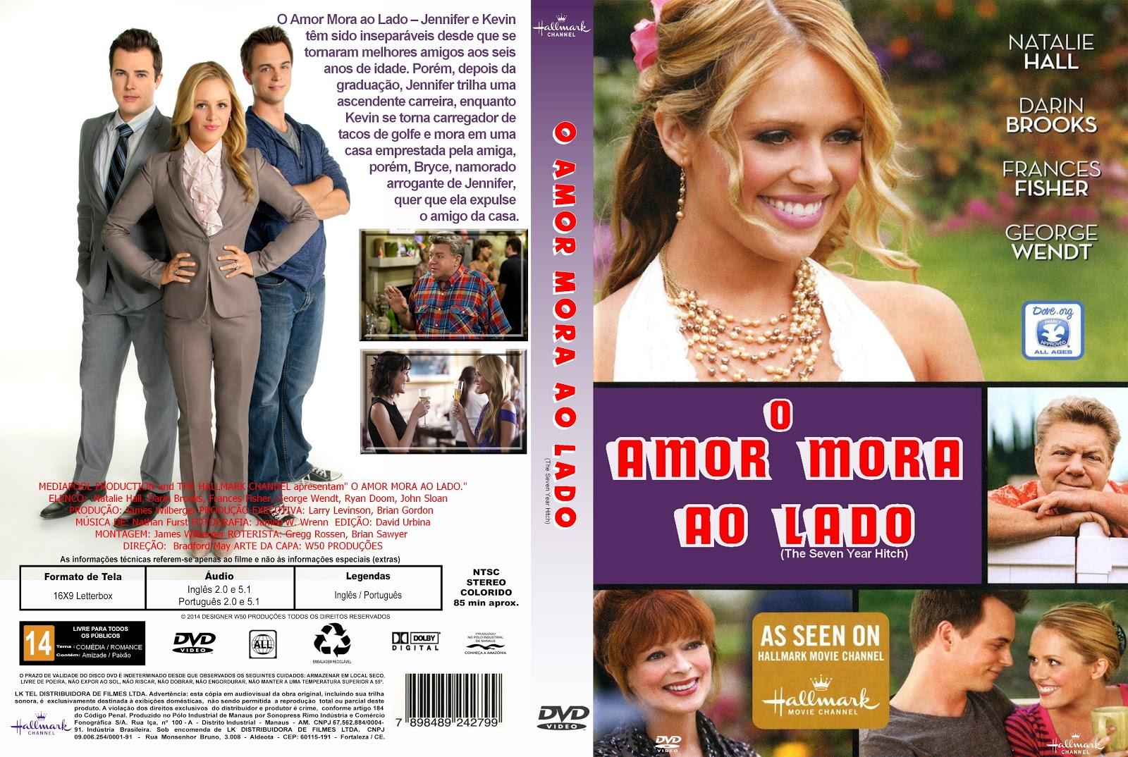 Capa DVD O Amor Mora Ao Lado