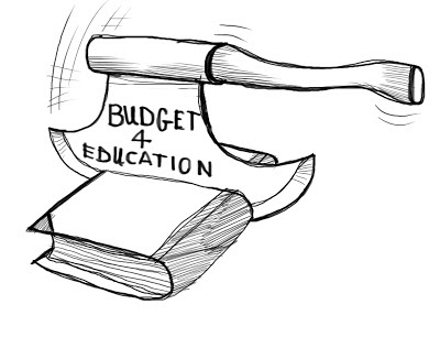 pakistani education budget cuts