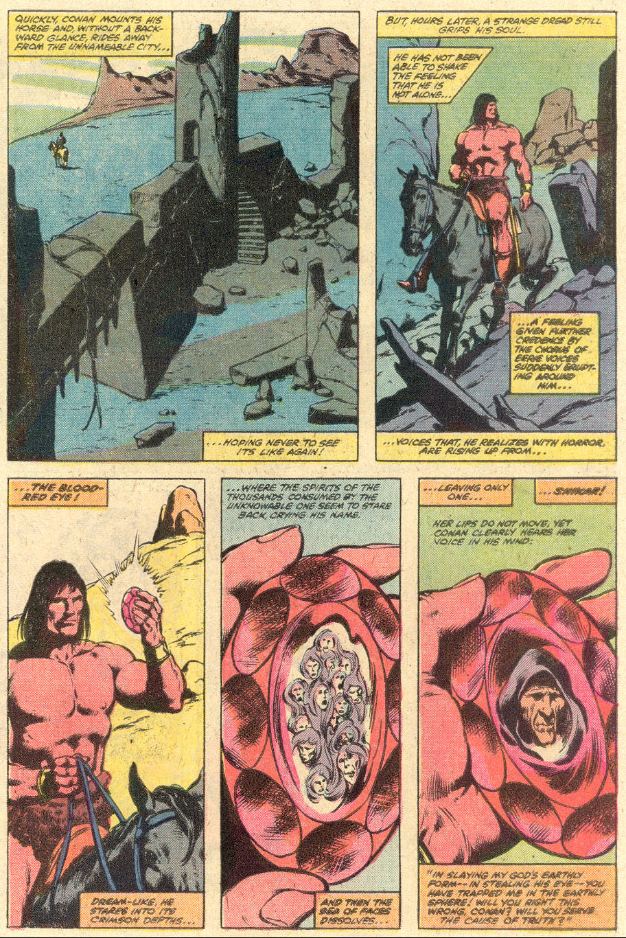 Conan the Barbarian (1970) Issue #126 #138 - English 18