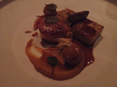 Scallop and Foie Gras at Michael Mina