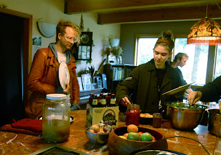 Farm to artist eating beets w grimes and born gold for Asian cuisine grimes