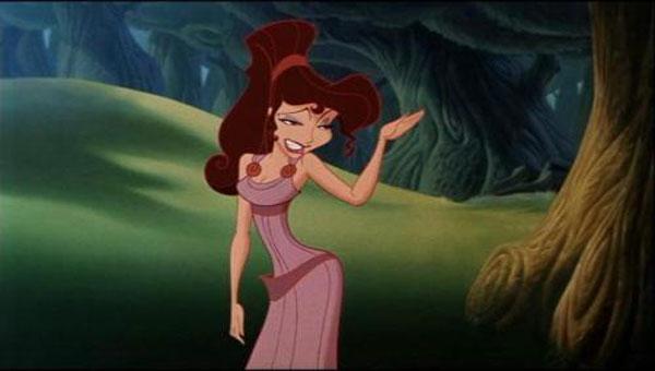 Meg (Susan Egan) in Disney's Hercules