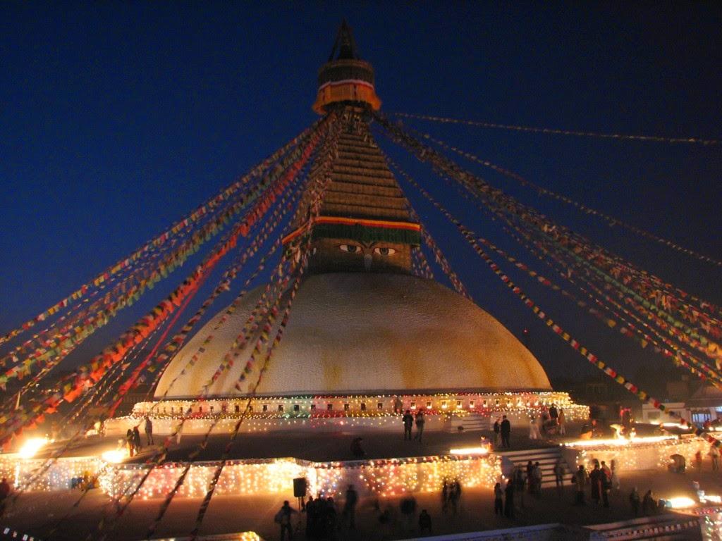 Boudhanath Stupa - Kathmandu Valley