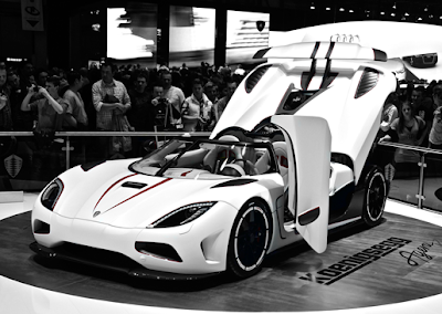 Koenigsegg Agera R U.S. Debut