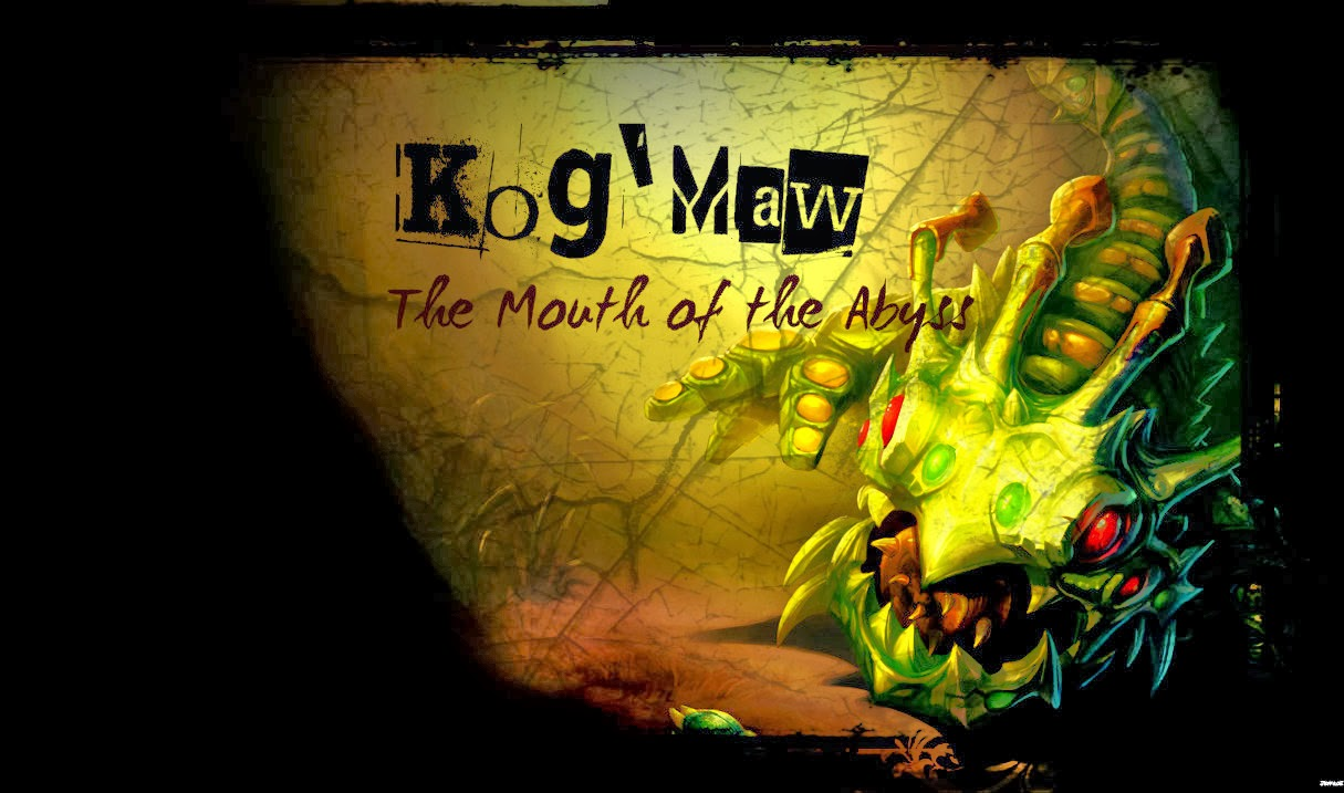 KogMaw League of Legends Wallpaper