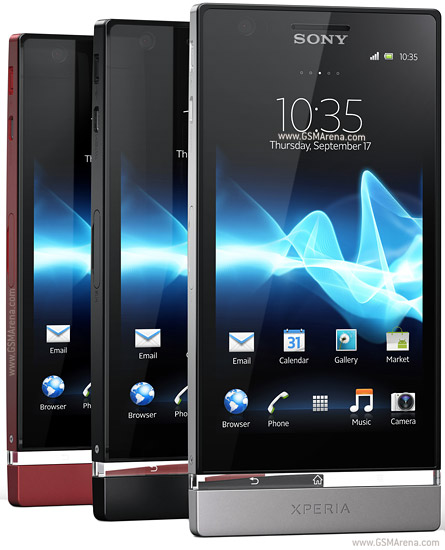 Review : Sony Xperia U Dan Sony Xperia P.