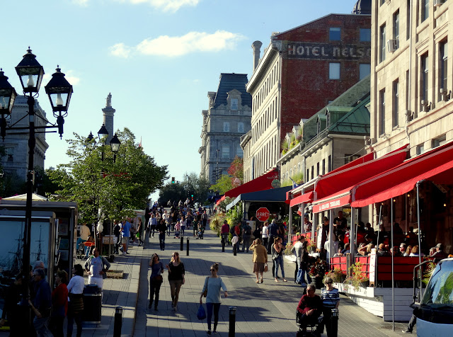 The Heart of Old Montreal: Place Jacques-Cartier