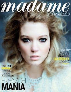 The Mysterious Lea Seydoux by Mathieu Cesar for Madame Figaro France May 2015