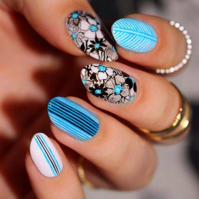 Four Nails Designs Ideas.