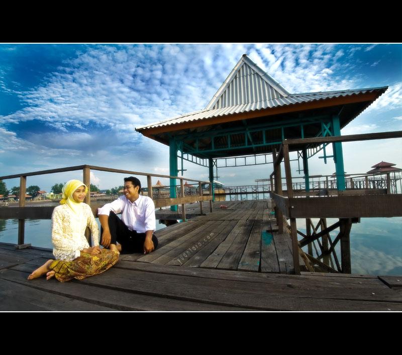 Buat pasangan penganten yang pingen bikin Pre Wedding, beberapa photo ...