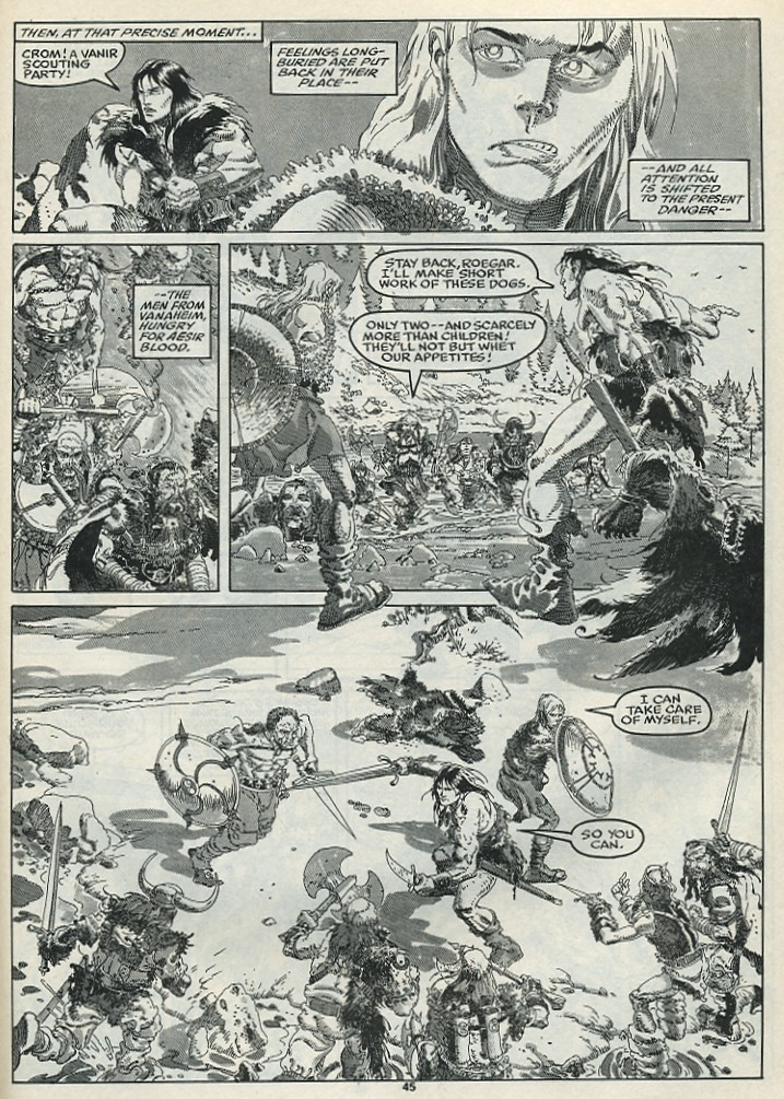 The Savage Sword Of Conan Issue #182 #183 - English 47
