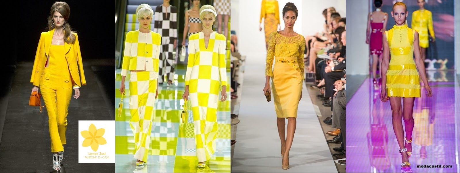 Lemon Zest - Colors Spring Summer 2013 Fashion
